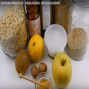 desayuno energético crema Budwig método Kousmine