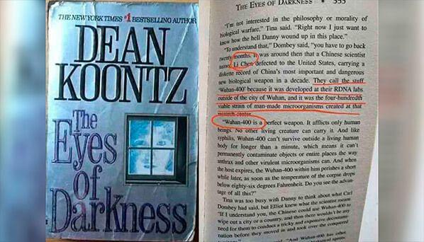 Contenido de la novela los ojos de la oscuridad