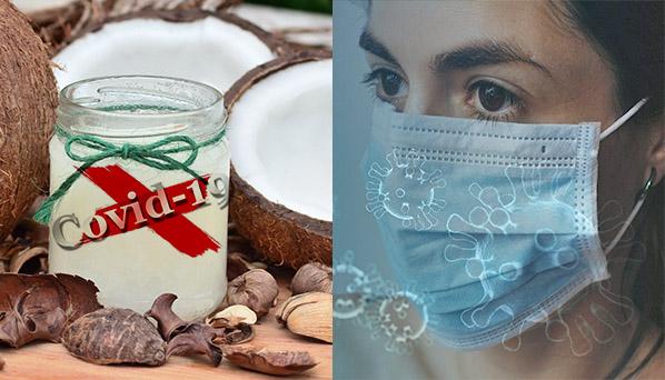 Como utilizar el aceite de coco contra covid-19