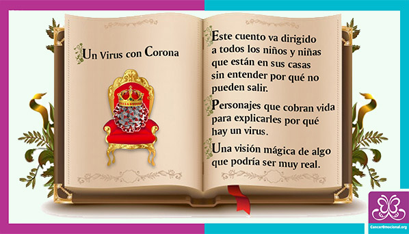 Cuento un virus con corona