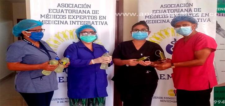 AEMEMI Ecuador MMS contra el Covid-19 Clorito de sódio