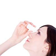 Aplicación dióxido de cloro vía ocular y nasal
