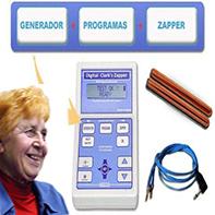 zapper, aparato para eliminar bacterias y virus