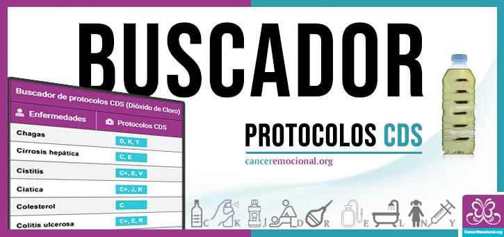 buscador de protocolos CDS dióxido de cloro