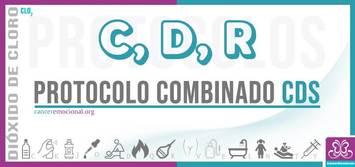 protocolo combinado CDR de dióxido de cloro para tratar la fístula anal