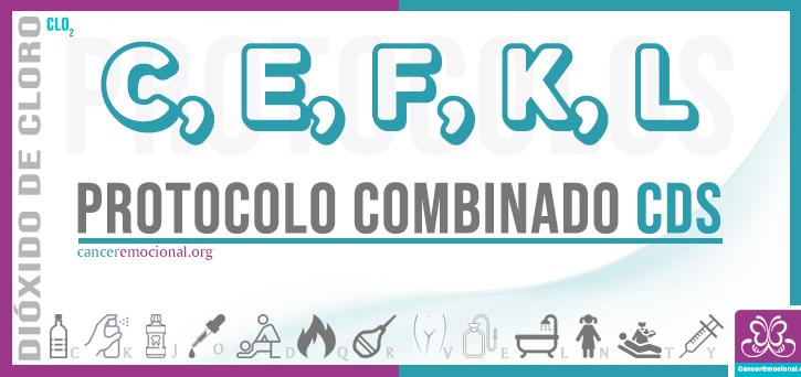 protocolo combinado CEFKL de CDS para tratar el dengue