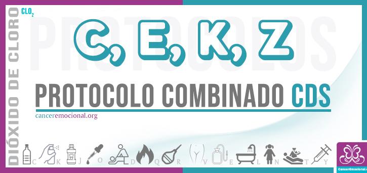 protocolo combinado CEKZ de CDS para tratar la esclerosis múltiple