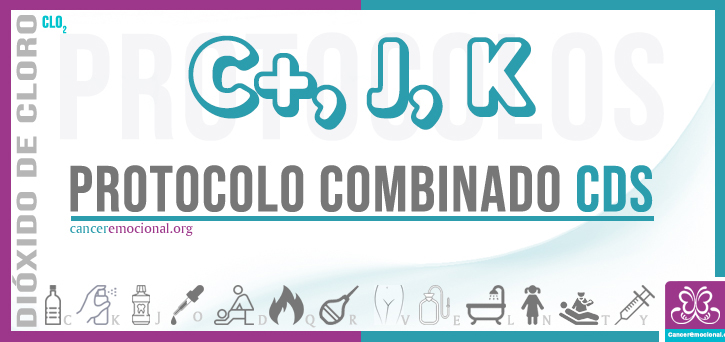 protocolo combinado C+JK, dióxido de cloro para tratar el cáncer de estómago