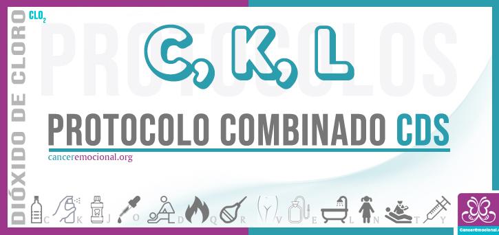 protocolo combinado CKL, dióxido de cloro para combatir el Alzheimer