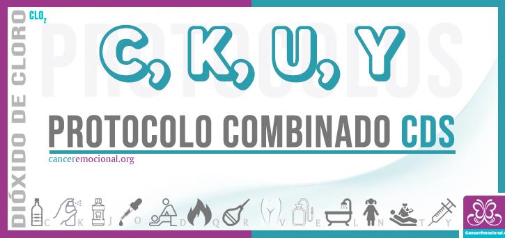 protocolo combinado CKUY, dióxido de cloro contra las infecciones
