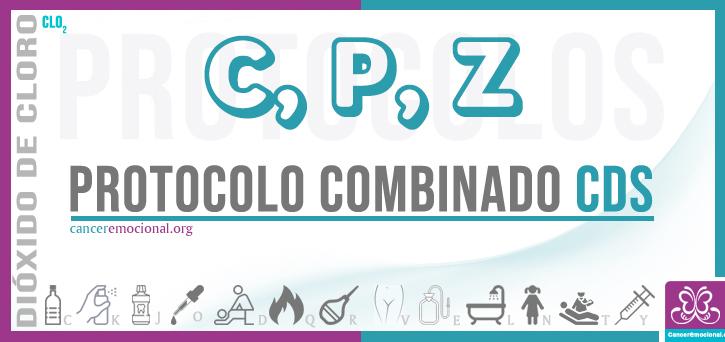 protocolo combinado CPZ, dióxido de cloro para tratar el cáncer de estómago