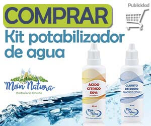 kit potabilizador agua mon-natura