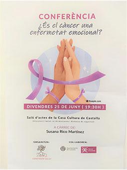 conferencia, ¿es el cáncer una enfermedad emocional?