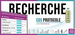 recherche de protocole CDS